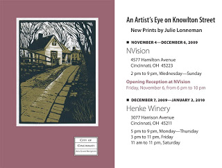 """An Artist's Eye on Knowlton Street"""