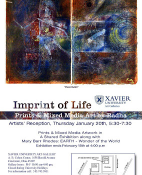 Opening Reception @ XU Art Galleries: Jan.20