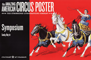 Circus Poster Symposium at CAM, May 1st