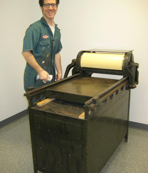 Spiffed-Up Vandercook!