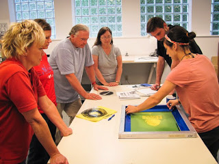 """Intro to Screen Printing"" Class"