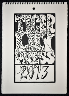 2013 Woodcut Calendars for Sale!