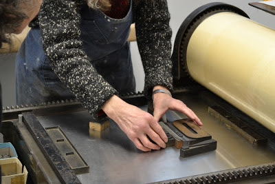 Letterpress Workshop w/April Foster