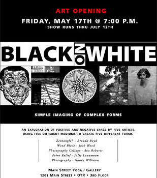 *Black on White* upcoming Art Opening