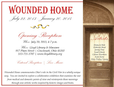 """Wounded Home"" Exhibition & Opening Reception"