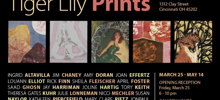 Members' Show Opens at Clay Street Press on March 25, 2016