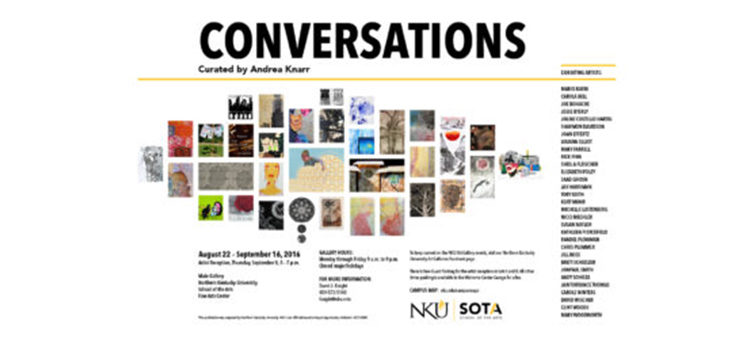 Conversations: Reception at NKU on Sept. 8
