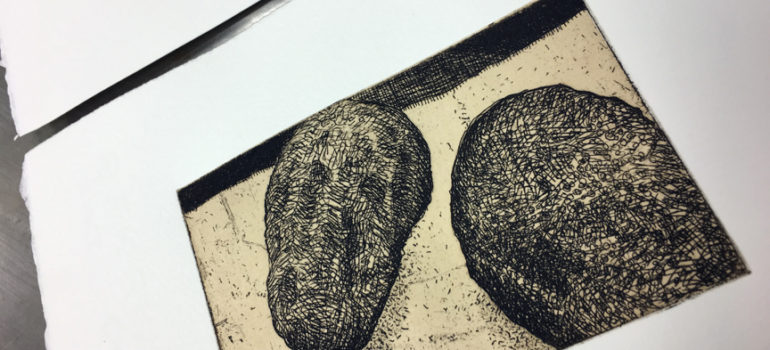 Copper Etching with Andrea Knarr